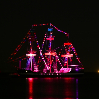 Gasparilla Pirate Ship Super Bowl