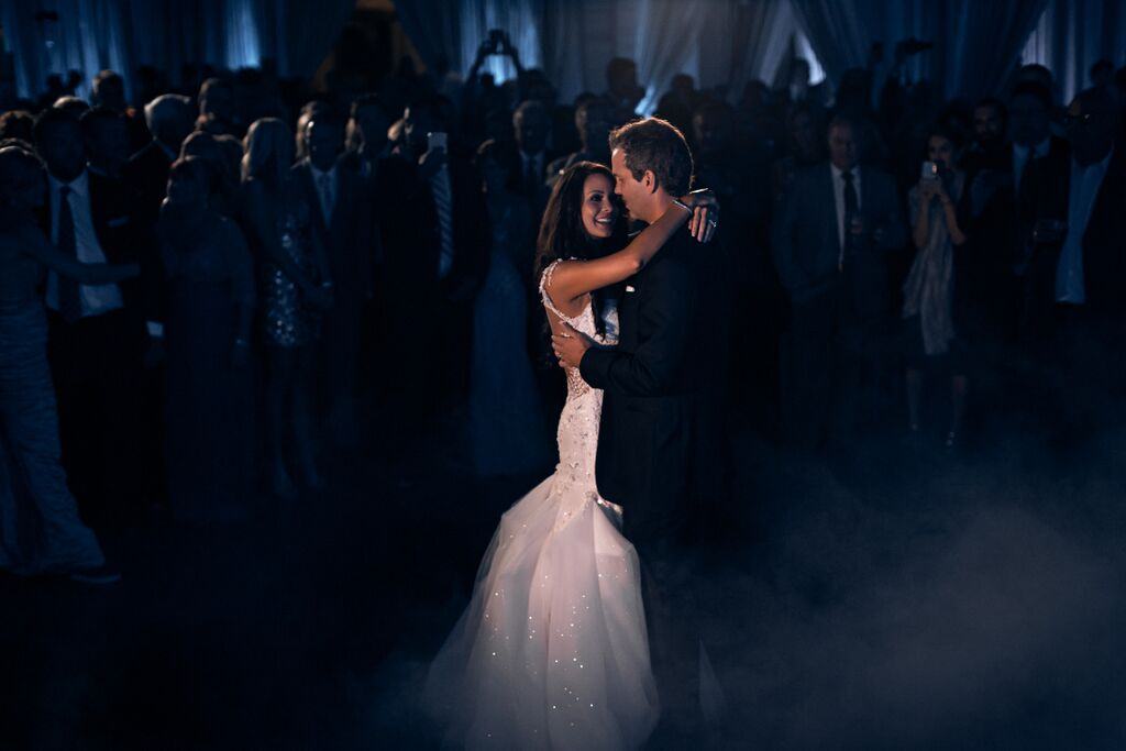 Anna Lucia Wedding-Low Lying Fog