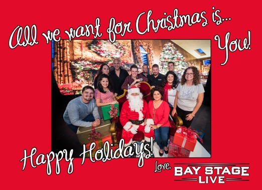 Bay Stage Live - 2015 Christmas Card back copy