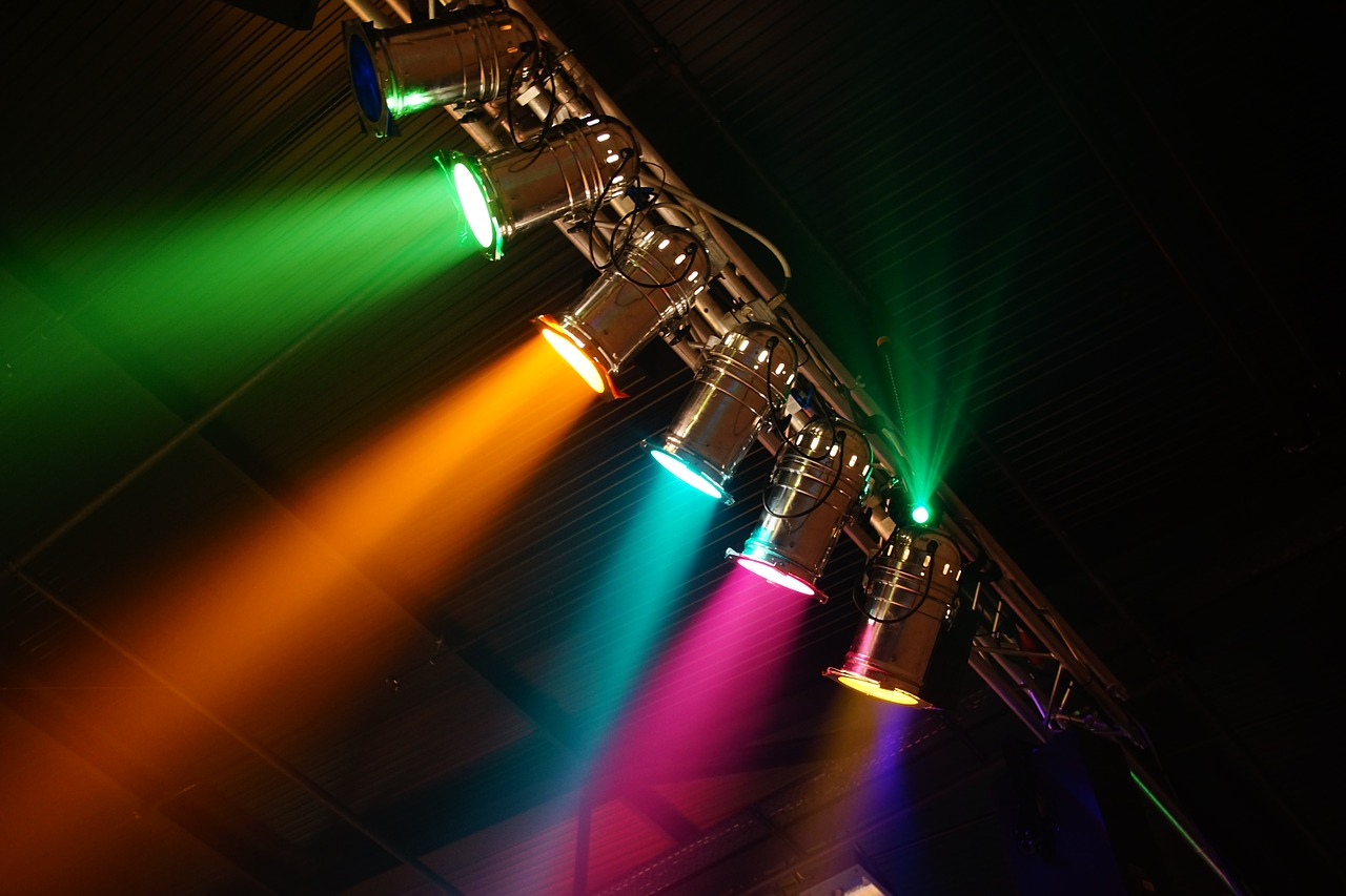 Pixabay - event lighting4