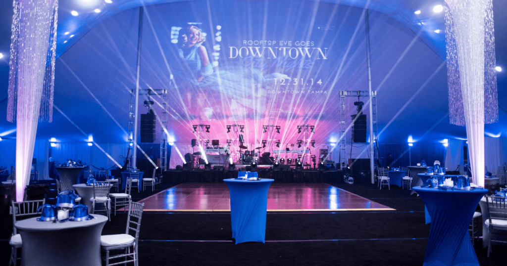 Bay Stage Live is Tampa Bay's Event Lighting Experts